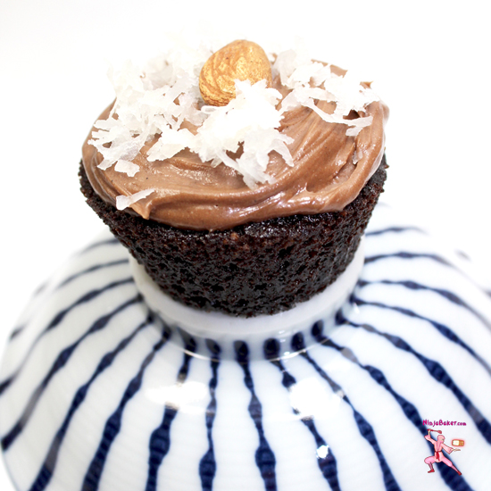 #glutenfree #cupcake #chocolate #AlmondJoy #SundaySupper