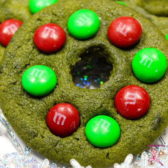 Matcha Green Tea Holiday Wreath Cookies The Ninja Baker