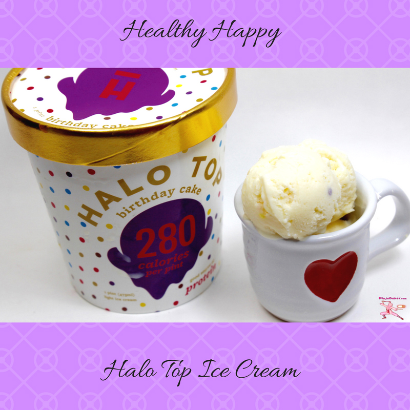 Topped With Vanilla Frosting Colorful Sprinkles And Hello Kitty Accouterment Birthday Cake Is A Cheery Way To Celebrate Today Halo Top Flavors