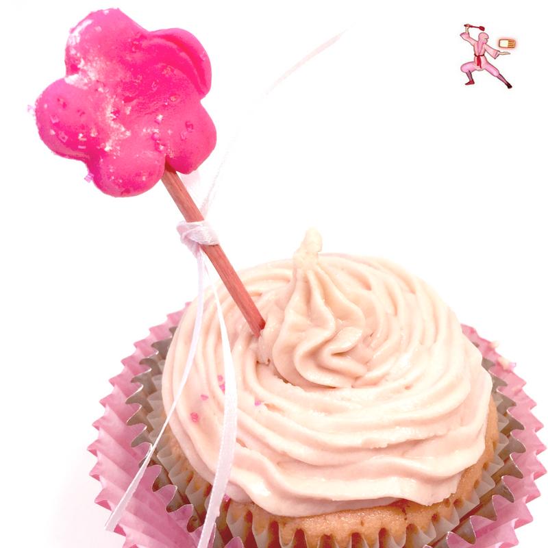 The Nutcracker Sugar Plum Fairy cupcake Japanese easy recipe