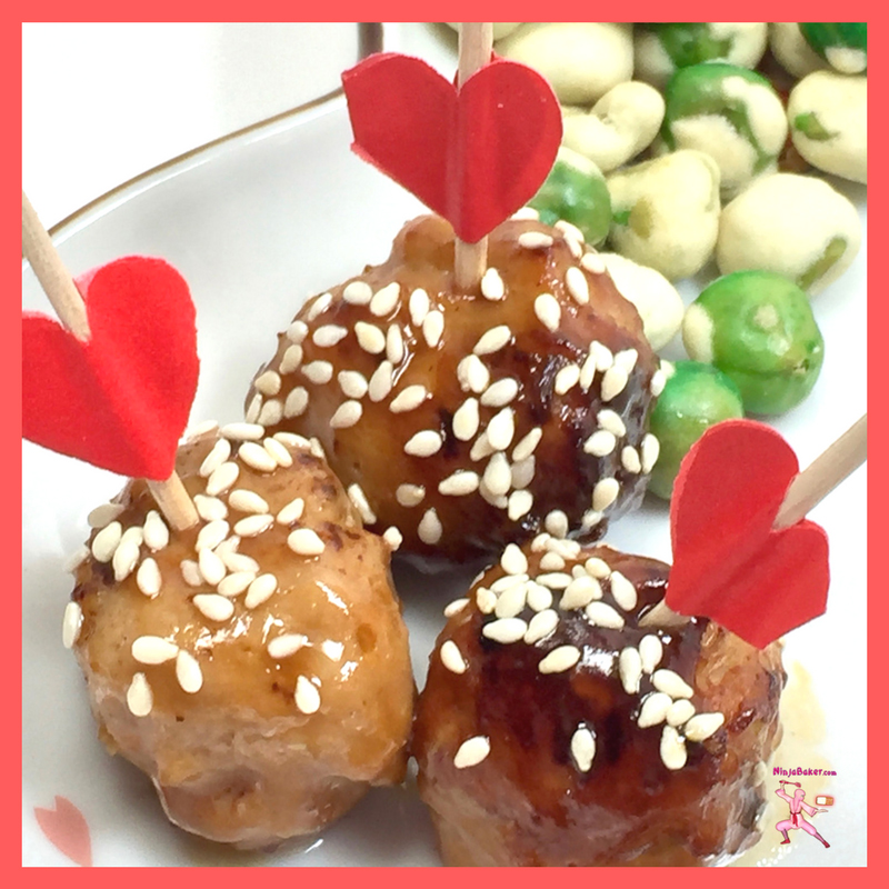 Japanese-Tsukune-Chicken-Meatballs-NinjaBaker