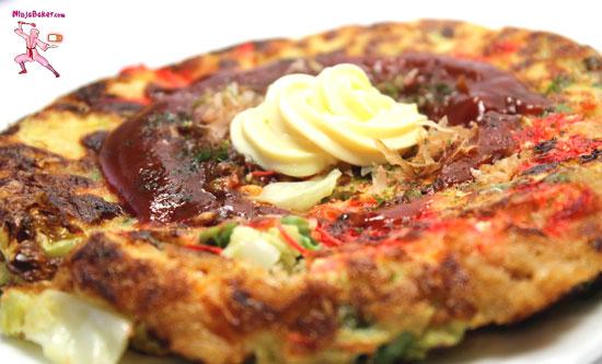 Japanese Pancake Recipes: Easy Japanese Savory Okonomiyaki Pancakes