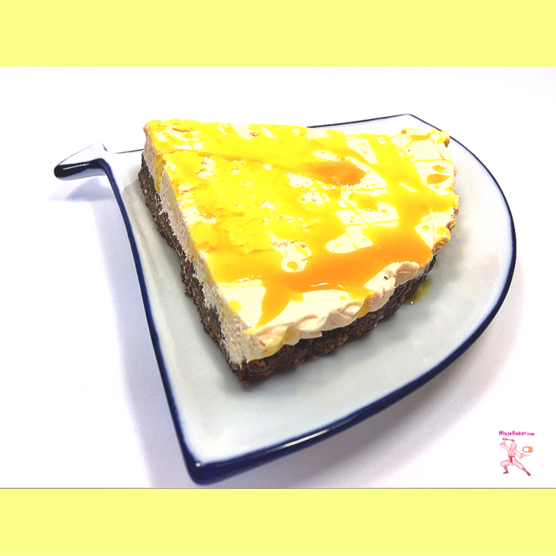 japanese yuzu cheesecake slice recipe