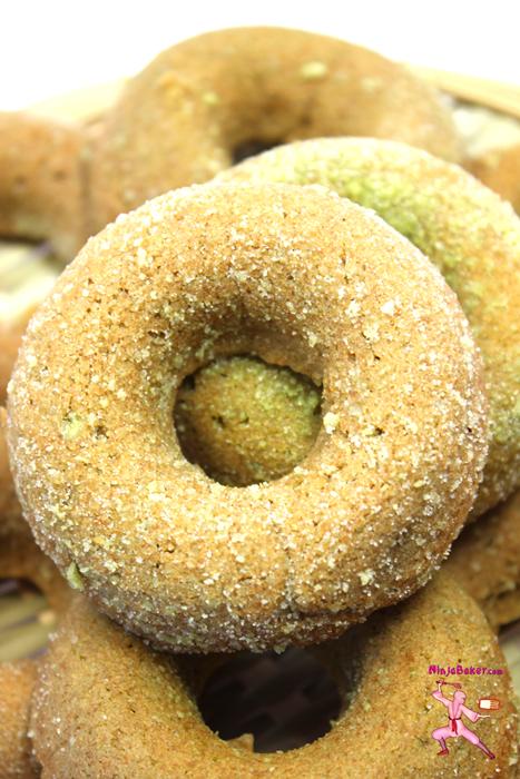 #Japanese #matcha #donuts
