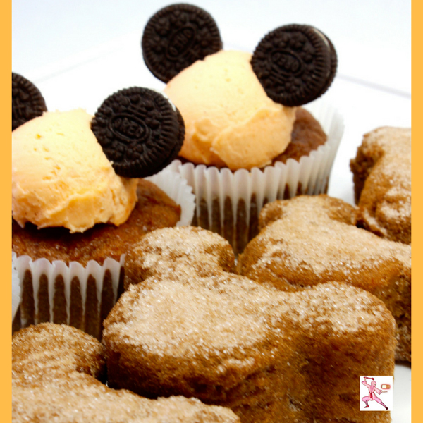 gluten free disney mickey mouse pumpkin cupcakes easy recipe