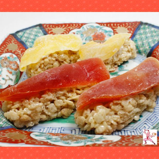 Rice Krispie sushi japan Japanese sushi bar tips