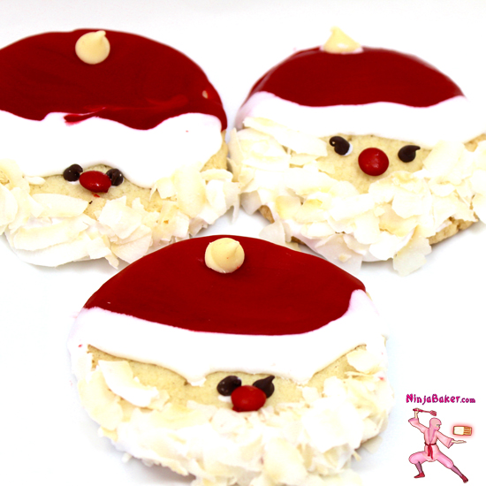 #santa #cookies #easy #recipe #SundaySupper