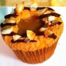 Samoas Girl Scout Cookies Cupcakes