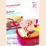 #GlutenFree-#Strawberry-#PopTart-Sandwich-#Bento.