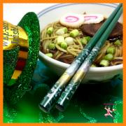 St-Patricks-Day-Japanese-matcha Noodles-NinjaBaker-RECIPE