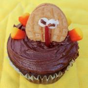 #glutenfree #chocolate #cupcake #Thanksgiving #glutino