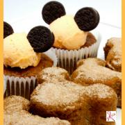 gluten free disney mickey mouse pumpkin cupcakes easy recipe