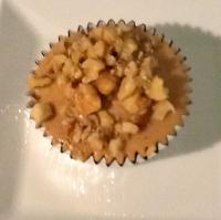 healthy cupcake apple walnuts